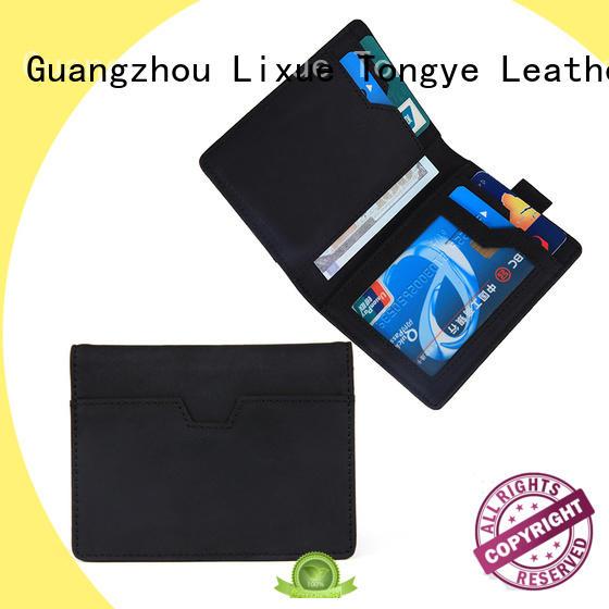Brand Handmade Leather Card Holder Wallets Manufacturer LT-BMW038