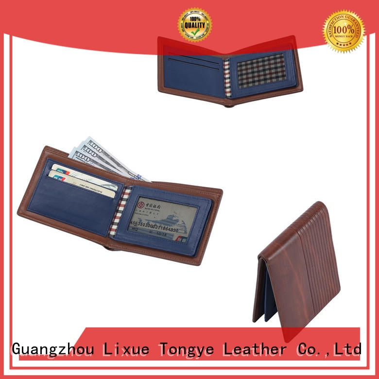 LITONG ltbmw065 leather wallet manufacturers supplier for woman