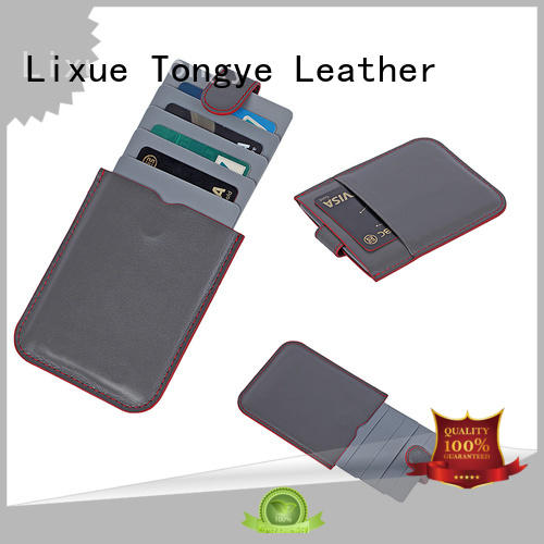 good-looking leather business card holder card wholesale for cash