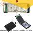 black leather wallet window leather Warranty LITONG