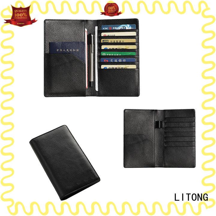luxury mens leather passport holder italian ownerfor shopping cards