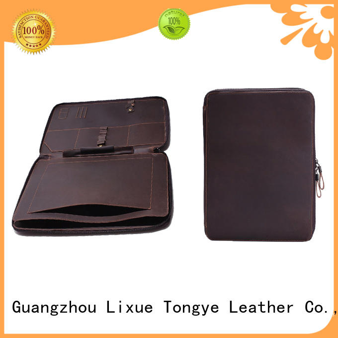 leather computer sleeve case for pen LITONG