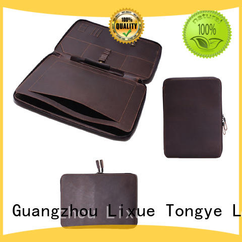 mens leather travel bag pouch hot sale Warranty LITONG