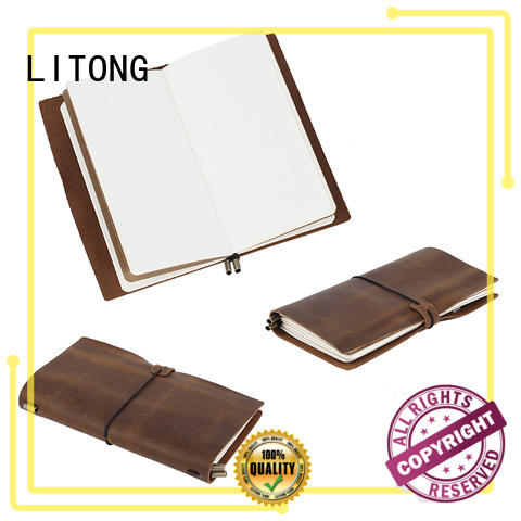 good-looking leather journal notebook diary for manufacturer for promotional gift