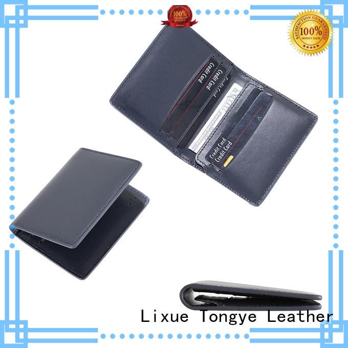LITONG light leather card case dropshipping for shopping cards