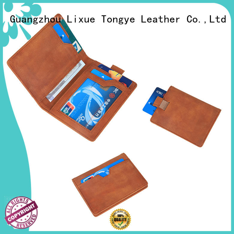 LITONG luxucy mens leather travel wallet newly for man