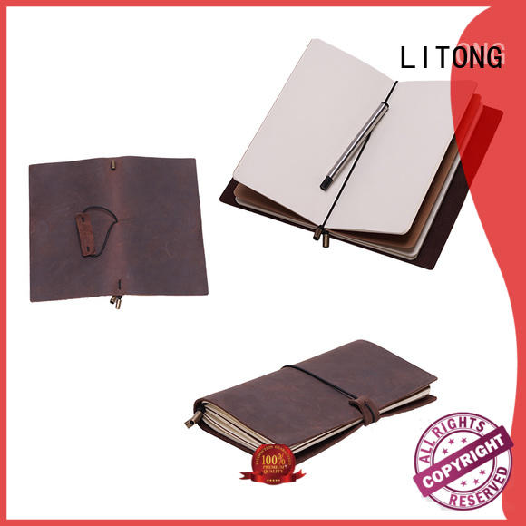 metal journal books leather vendor for festival gift LITONG